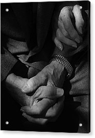 Hands Of Time Acrylic Print by Steven Milner