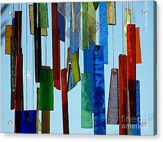Hang Ups Acrylic Print by Jackie Mueller-Jones