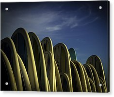 Acrylic Print featuring the photograph ..hangin'... by Russell Styles