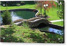 Hanging Garden In Indiana Acrylic Print