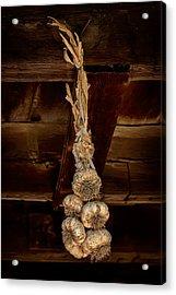 Hanging Garlic Acrylic Print
