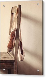 Hanging In The Moment Acrylic Print by Amy Weiss