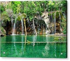 Hanging Lake 1 Acrylic Print