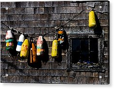 Hanging Out To Dry Acrylic Print by Cole Black