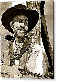 Hank Worden Publicity Photo Red River 1948-2013 Acrylic Print