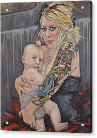 Hannah And Asher Acrylic Print