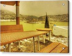 Hannah Lake Acrylic Print by Riaz Baloch