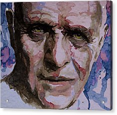 Acrylic Print featuring the painting Hannibal by Laur Iduc