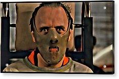 Hannibal Lecter Acrylic Print