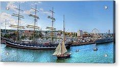 Hanse Sail Regatta Rostock  Acrylic Print