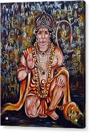 Hanuman Acrylic Print