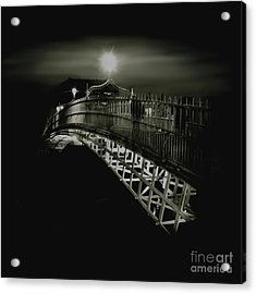 Ha'penny By Night Acrylic Print
