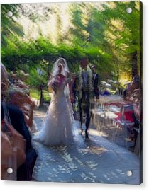Acrylic Print featuring the photograph Happily Ever After by Alex Lapidus
