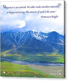Happiness 2 Acrylic Print