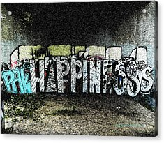 Happiness					 Acrylic Print