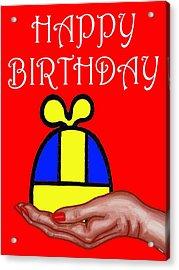 Happy Birthday 2 Acrylic Print by Patrick J Murphy