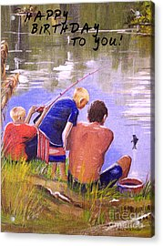 Happy Birthday To You Acrylic Print by Bill Holkham