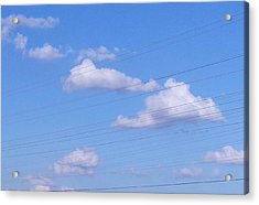 Happy Cloud Day Acrylic Print