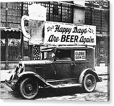 Happy Days Are Beer Again Acrylic Print
