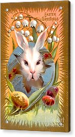 Happy Easter For All. Acrylic Print by Andrzej Szczerski