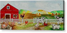 Happy Farm Acrylic Print