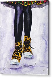 Happy Feet No. 2 Acrylic Print