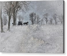Happy Holidays From Pa Acrylic Print by Lori Deiter
