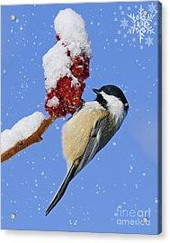 Happy Holidays... Acrylic Print by Nina Stavlund