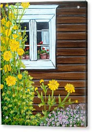 Happy Homestead Acrylic Print