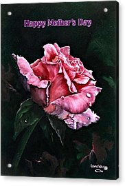 Acrylic Print featuring the painting Happy Mother's Day by Lynne Wright