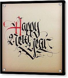 Happy New Year To Everyone! Acrylic Print