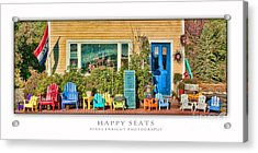 Happy Seats Acrylic Print