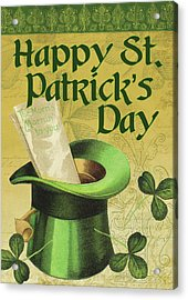 Happy St. Patrick's Day Acrylic Print