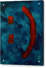 Happy To Be Here  Acrylic Print by Shawn Marlow