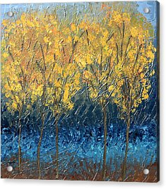 Happy Trees Acrylic Print