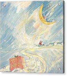 Happy Xmas  Acrylic Print by David Cooke