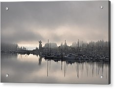 Harbor At Dawn 2 Acrylic Print