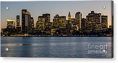 Harbor City Acrylic Print