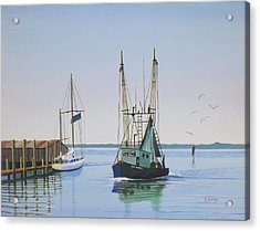 Harbor Days End Acrylic Print
