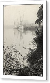 Harbor Fog No.3 Acrylic Print