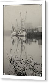 Harbor Fog No.4 Acrylic Print