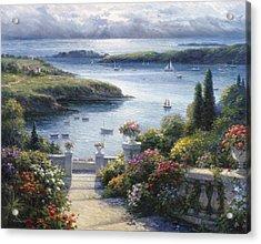 Harbor Garden Acrylic Print