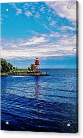 Harbor Light Acrylic Print by Daniel Thompson