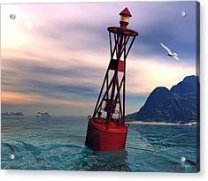 Harbor Light Acrylic Print
