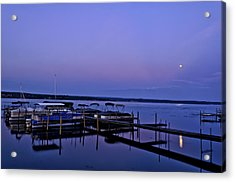 Harbor Night Acrylic Print