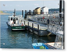 Harbor Spectacle Island Acrylic Print by Gail Maloney