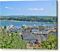 Harbor Springs Michigan Acrylic Print by Bill Gallagher