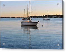 Harbor Sunrise Acrylic Print by Anthony Baatz