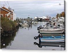 Harbor Wickford Ri Acrylic Print by Gail Maloney