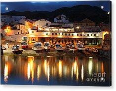 Harbour At Twilight Acrylic Print by Gaspar Avila